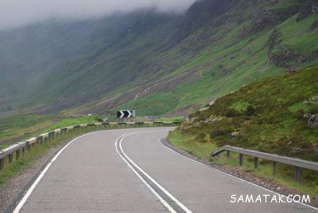 زیباترین جاده های جهان به ترتیب + تصاویر