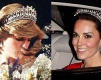 تاج های گران قیمت با سنگ های قیمتی ملکه های جهان