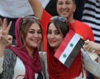 عکس های زیباترین زنان و دختران خوشگل سوری در ورزشگاه آزادی