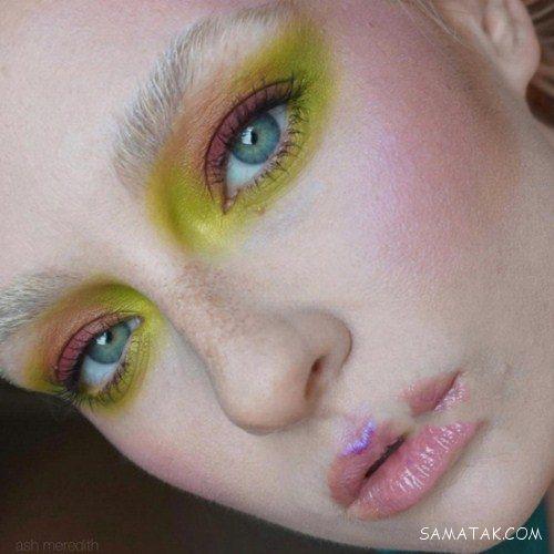 عکس جدیدترین مدل های آرایش فانتزی صورت