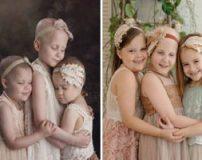 تصاویر افرادی قبل و بعد از بهبود بیماری سرطان