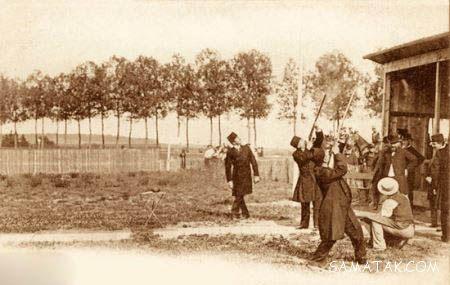 تفریحات مظفرالدین شاه در کشور فرانسه