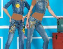 جدیدترین مدل های بلوز و شلوار لی زنانه و دخترانه سایز 36 تا 42