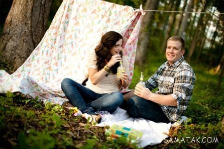 عکس های عاشقانه خصوصی زن و شوهری خفن
