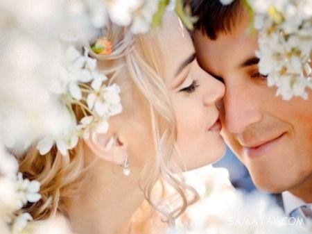 تصاویر عاشقانه عشق بازی زن و شوهرهای رمانتیک