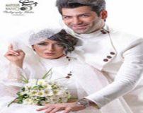 عکس های عروسی و ازدواج فریبا طالبی و همسرش امیر صدهزاری