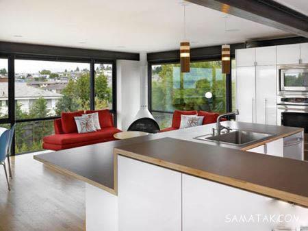 مشخصات ، قیمت و عکس انواع صفحه روی کابینت آشپزخانه