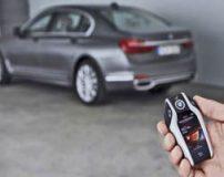 آموزش تصویری کار با سوئیچ خودروی بی ام و BMW