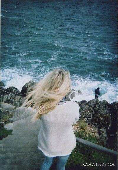 عکس های عاشقانه لب ساحل و کنار دریا