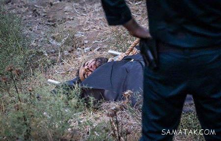 جنازه قاتل آتنا بعد از اعدام ( تصاویر +18)