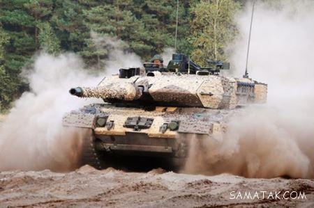 مشخصات فنی و تجهیزات تانک های سریع جهان + تصاویر