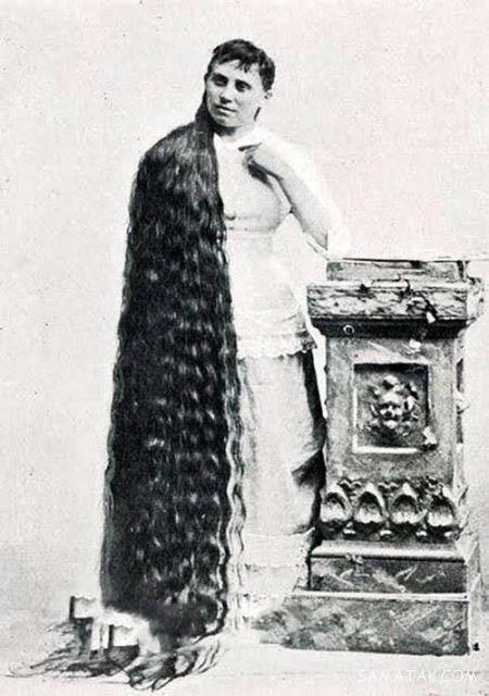 مو بلندترین زنان جهان به ترتیب (30 عکس)