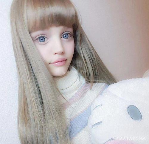 تصاویری از اندام و چهره زیباترین دختر اینستاگرام