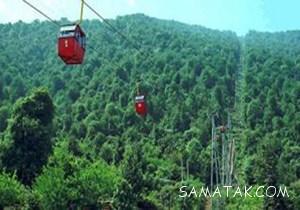 فیلم سقوط تله کابین رامسر و برخورد با کوه (تصاویر 18+)