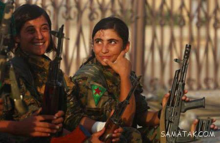 عکس های دختران سر لخت و بی حجاب در خدمت سربازی