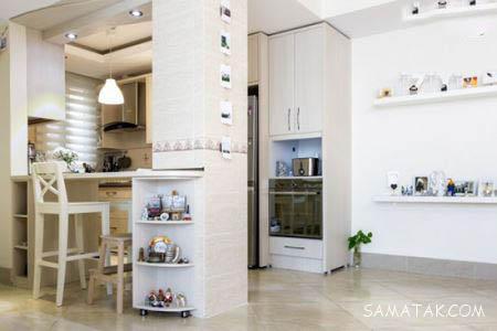 روش چیدن وسایل در آشپزخانه های کوچک