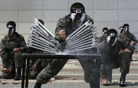 سخت ترین تمرینات رزمی و آموزش های نظامی (عکس)