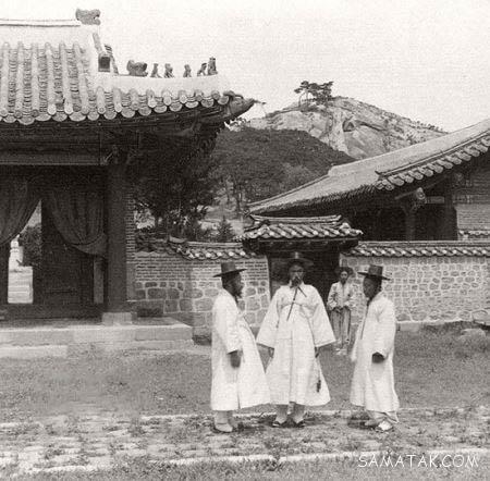 عکس های قدیمی از زندگی مردم و خیابان های سئول پایتخت کره جنوبی
