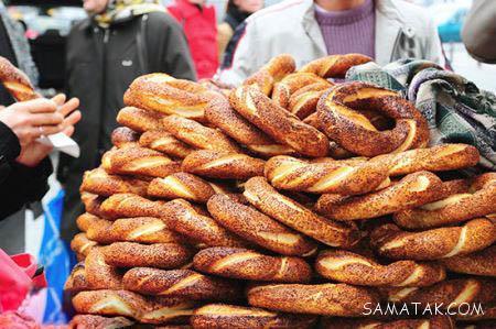 عکس معروف ترین غذاهای خیابانی استانبول ترکیه