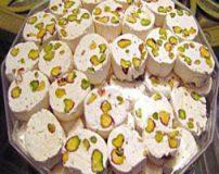 طرز درست کردن گز پسته ای و بلداجی اصفهان در خانه + مواد اولیه