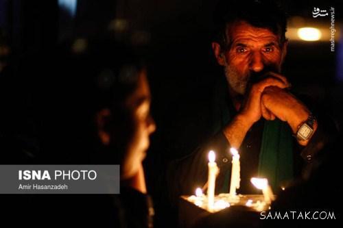 شام غریبان امام حسین در غروب روز عاشورا (عکس)