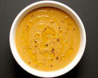دستور پخت سوپ سیب زمینی شیرین + مواد اولیه