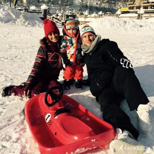 عکس های خصوصی و خانوادگی مسی فوتبالیست و همسرش