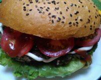 آموزش تصویری درست کردن همبرگر خانگی