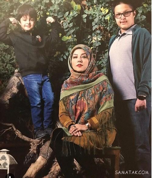 تصاویر پسران شهاب حسینی و همسرش پریچهر