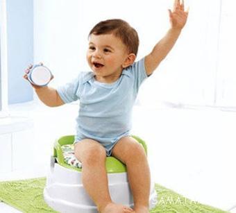 آموزش توالت رفتن به کودک 3 ساله