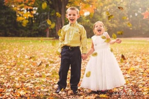 شب زفاف و عروسی دختر 5 ساله با پسر 6 ساله + تصاویر