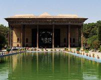 چهل ستون اصفهان زیباترین بنای تاریخی جهان + تصاویر