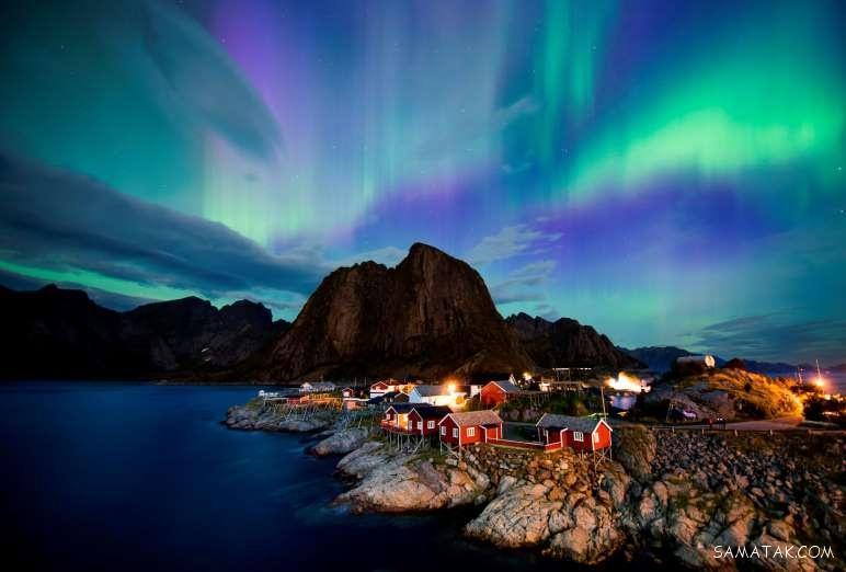 عکس های زیبا از شفق قطبی HD