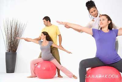 ورزش های بارداری برای زایمان طبیعی