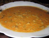 طرز درست کردن سوپ جو با قارچ و شیر