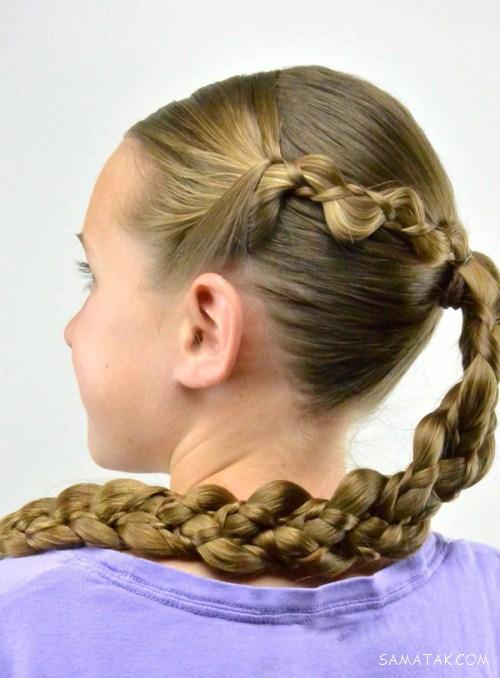 مدل های زیبای بافت موی دخترانه برای عروسی