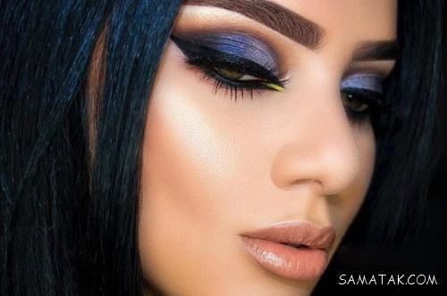 زیباترین مدل های آرایش چشم و ابرو مخصوص شب یلدا