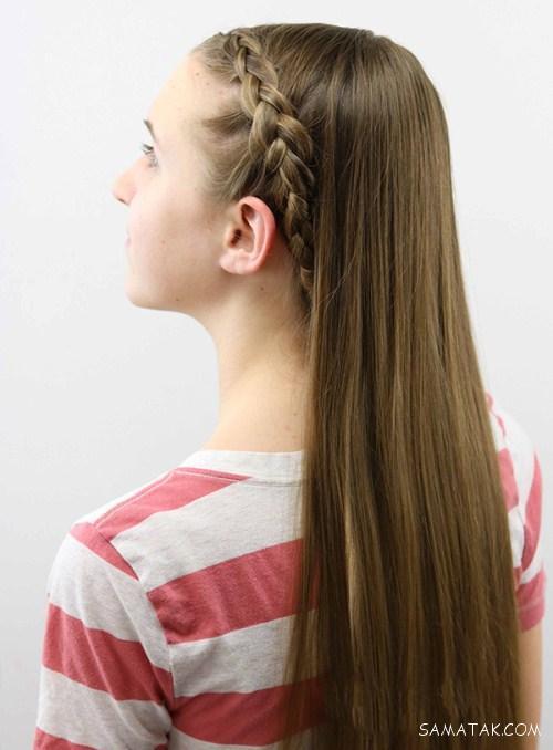 مدل های زیبای بستن مو دخترانه