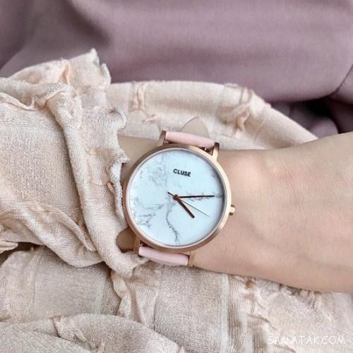 مدل ساعت مچی زنانه بند چرمی 2018 - 97