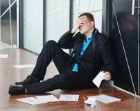 شکست خوردن در کار