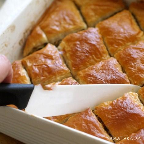 طرز پخت باقلوا ترکی + طرز درست کردن باقلوا استانبولی