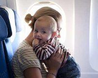 مسافرت بردن نوزاد سه ماهه