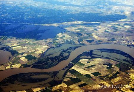 رودهای پرآب جهان به ترتیب طولانی بودن + تصاویر