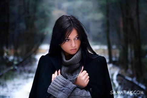 عکس های زیبای زمستانی برای پروفایل دختر