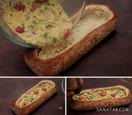 طرز تهیه خوشمزه ترین صبحانه با پنیر چدار