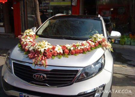 گل کاری ماشین عروس شاسی بلند و سواری (20 عکس)