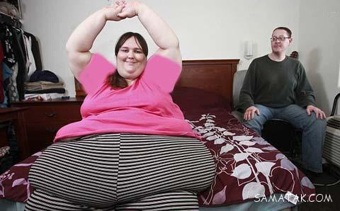 فیلم عروسی چاق ترین دختر جهان با سرآشپز مرد