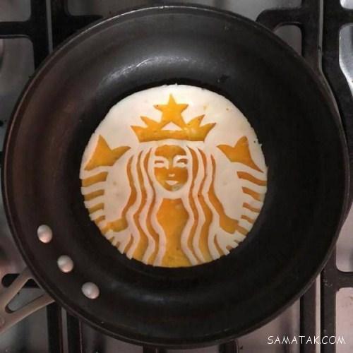 دیزاین تخم مرغ نیمرو داخل ماهیتابه (10 عکس)