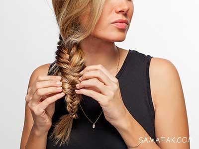 آموزش بافت مو تصویری برای عید