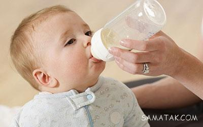 شیر خشک به نوزاد بدهیم یا نه؟
